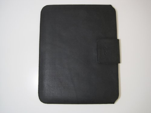 Genuine Leather Ipad Sleeve Black Sunpentown IP60006 by Sunpentown