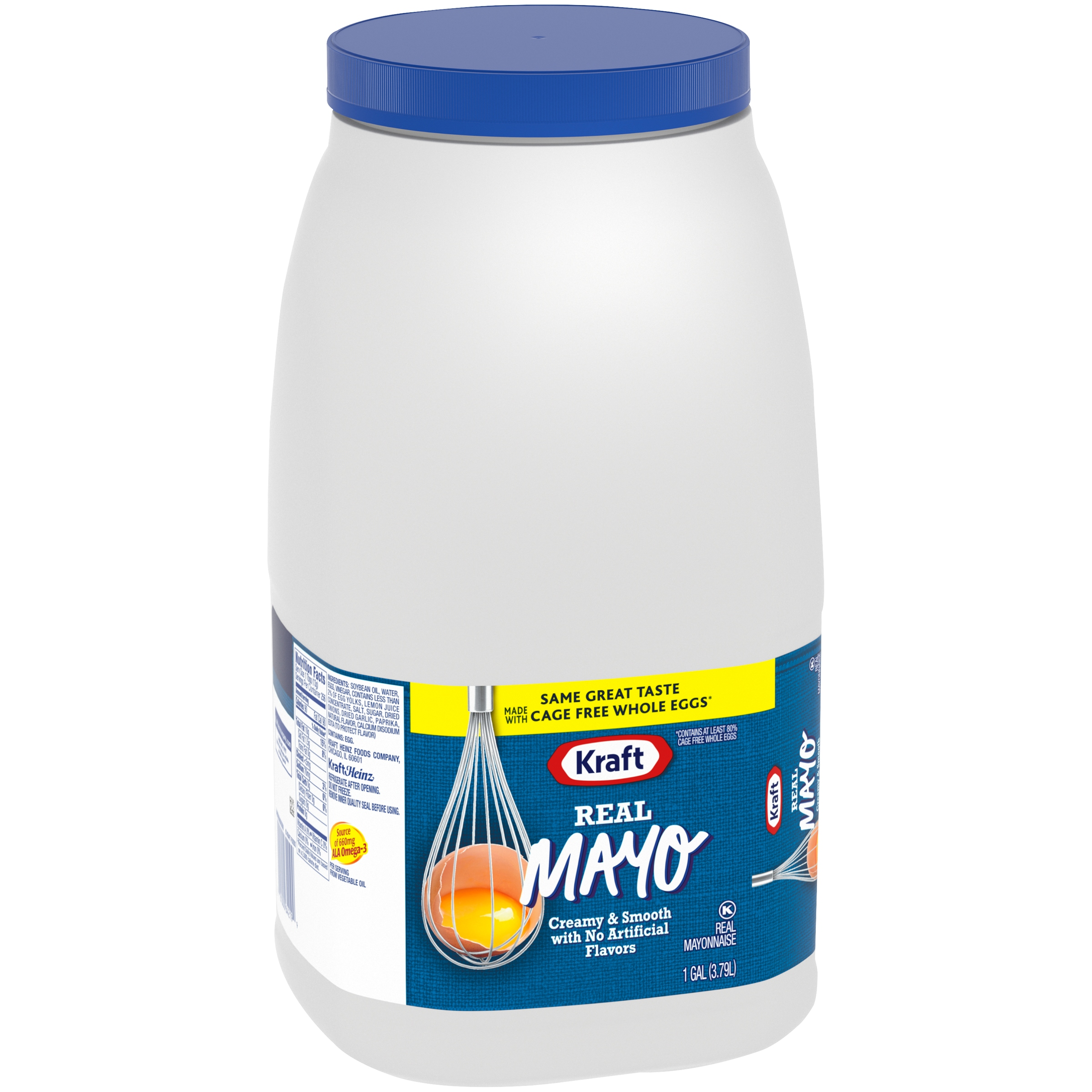 Kraft Real Mayonnaise 1 gal. Jug