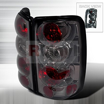 Chevrolet Tahoe 2000 2001 2002 2003 2004 2005 2006 Altezza Tail Lights - Smoke