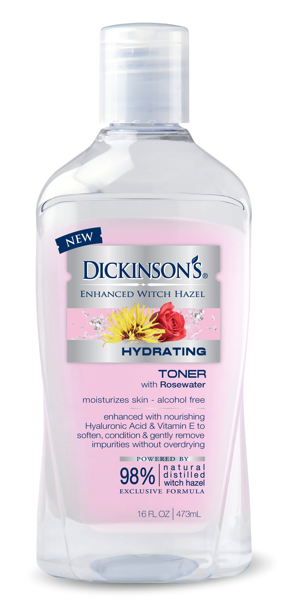 Dickinson S Enhanced Witch Hazel Hydrating Toner With Rosewater
