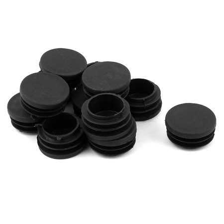 Unique Bargains 12 Pcs Antislip Plastic Round 32mm Chair