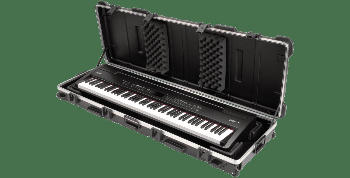 SKB 1SKB-5817W ATA 88 Note Slimline Keyboard Case by SKB