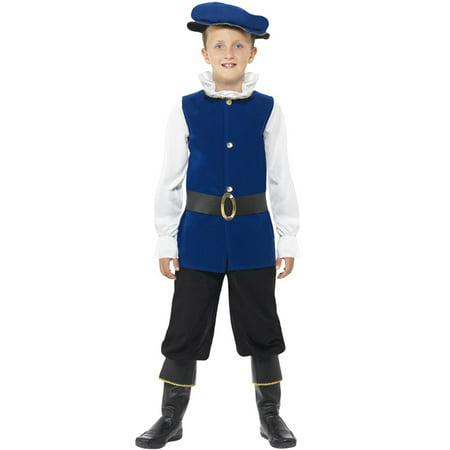 Tudor Boy Child Costume