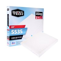 SuperTech Cabin Air Filter 5535, Replacement Air/Dust Filter for GM
