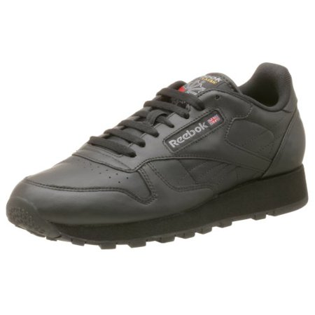 9be1915dbfb9 Reebok - Reebok 116  Men s Classic Leather Black Sneaker - Walmart.com