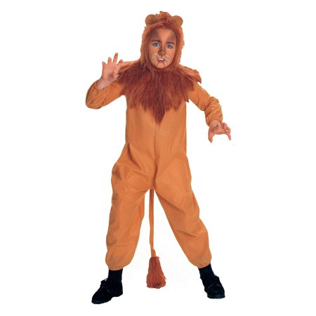 The Wizard of Oz Cowardly Lion Child Costume - Medium](Lion Kids Costume)