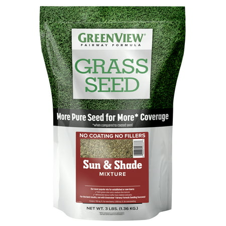 GreenView Fairway Formula Grass Seed Sun & Shade Mixture - 3