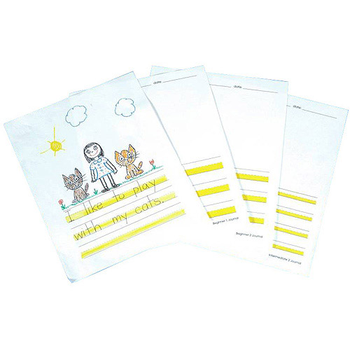 Abilitations Integrations Hi-Write Journal Paper, Intermediate 2 Paper, 100-Pack Sheets