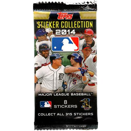 2014 MLB Sticker Collection Pack - Baseball Stickers