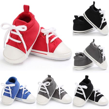 Toddler Baby Boy Girl Shoes Soft Sole Crib Shoes Sneaker Newborn to 0-18Months - image 1 of 5