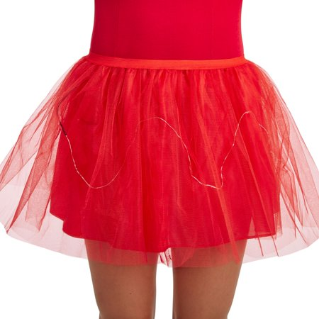 Halloween Adult Black Light Up - Black Tutu Halloween