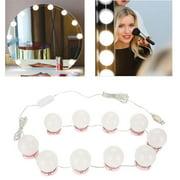 Ejoyous LED Bulbs Mirror Light Vanity Mirror Lights LED Lamp Kit Lens Headlight LED Bulbs Kit,Makeup Mirror Light, LED Bulbs