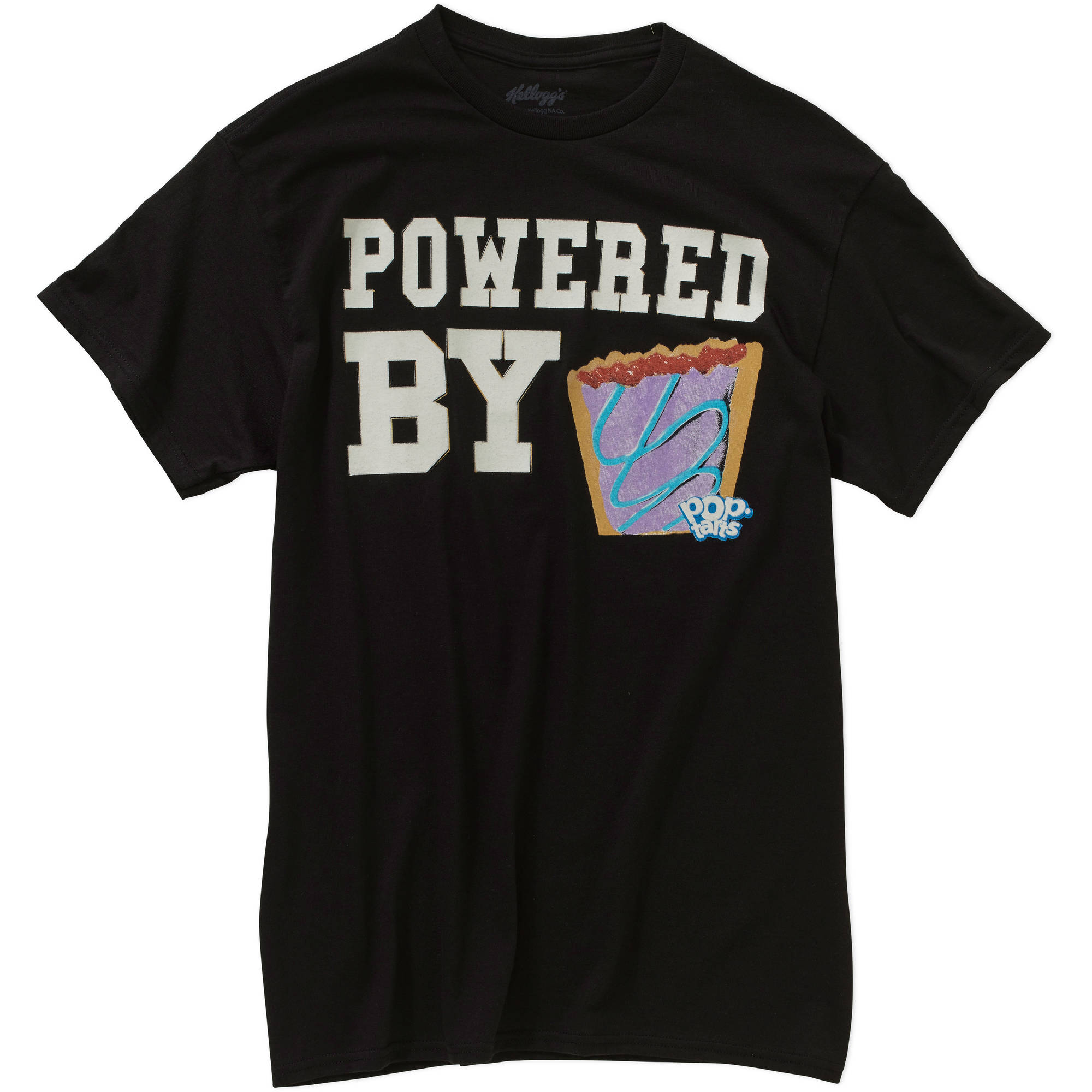 Kellogg's Powered by Pop Tarts Mens Graphic Tee