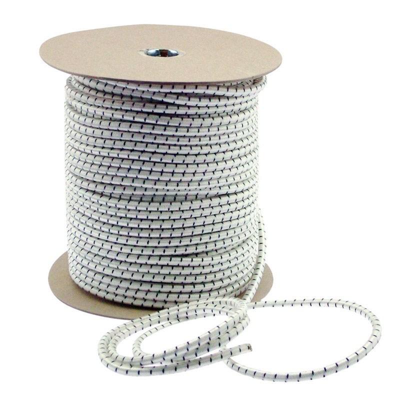 Keeper Corporation Bungee Cord Reel 5/32 In. White Bulk