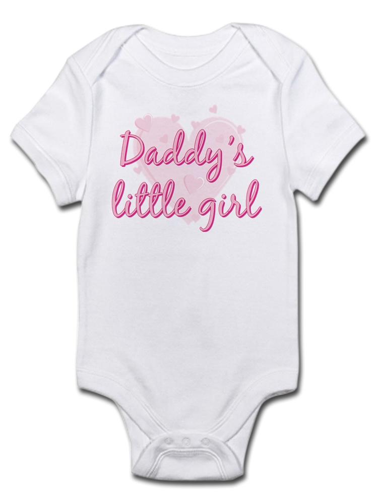 f13756570 CafePress - CafePress - Daddy's Little Girl Infant Bodysuit - Baby Light  Bodysuit - Walmart.com