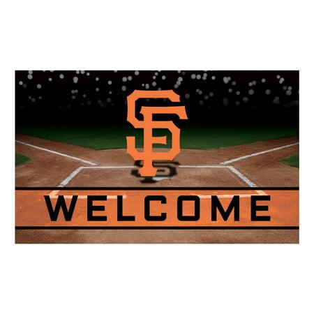 San Francisco Giants Crumb Rubber Door