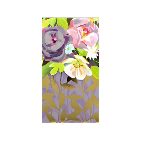 Punch Studio Note Pad Pocket Lg Floralie