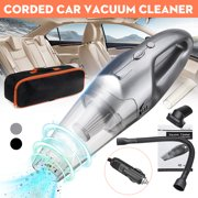 Portable Handheld Car Vacuums Cleaner Duster Corded Portable Wet & Dry Dual Cleaning for Home Dust Hair Pet Office Car Cleaning w/Strong Suction