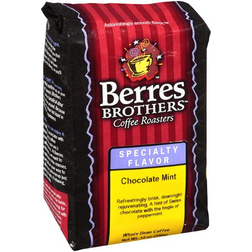 Berres Brothers Coffee Roasters Chocolate Mint Coffee Beans, 12 oz