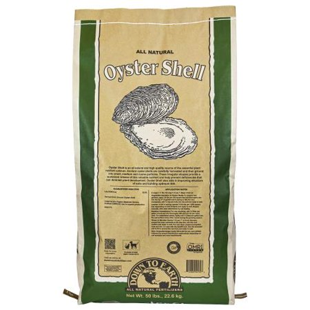 Down To Earth Oyster Shell - 50 lb - Oyster Mushroom Growing