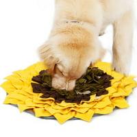 DogLemi Pet Dog Snuffle Mat Pet Dog Snuffle Feeding Mat Activity Blanket Feeding Mat for Dog Release Stress