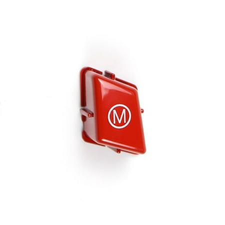 Car Sports Steering Wheel M Mode Switch Button Cover Trim for BMW 3 Series E90 E92 E93 2007-2013 Auto Interior