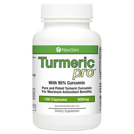 Turmeric Pro   120Ct Turmeric Curcumin 95  1 000Mg Servings With Bioperine Black Pepper Extract