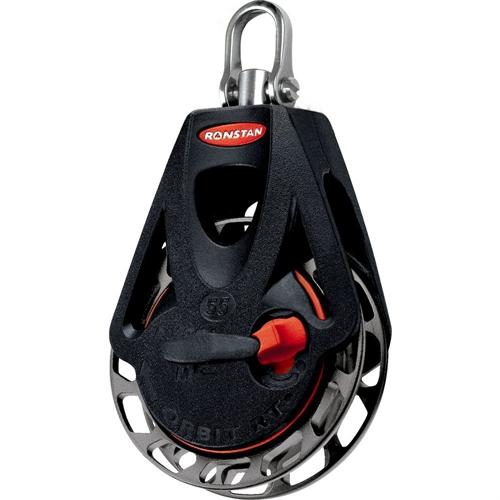 Ronstan Series 55 Ratchet Orbit Block - Single - Swivel Head - Auto & Manual RF56100
