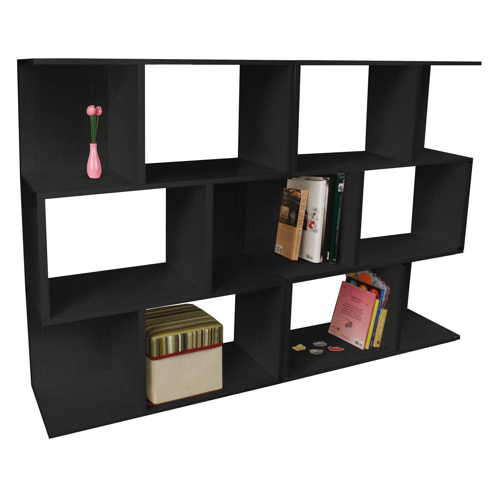 Way Basics Double Madison Bookcase And Room Divider