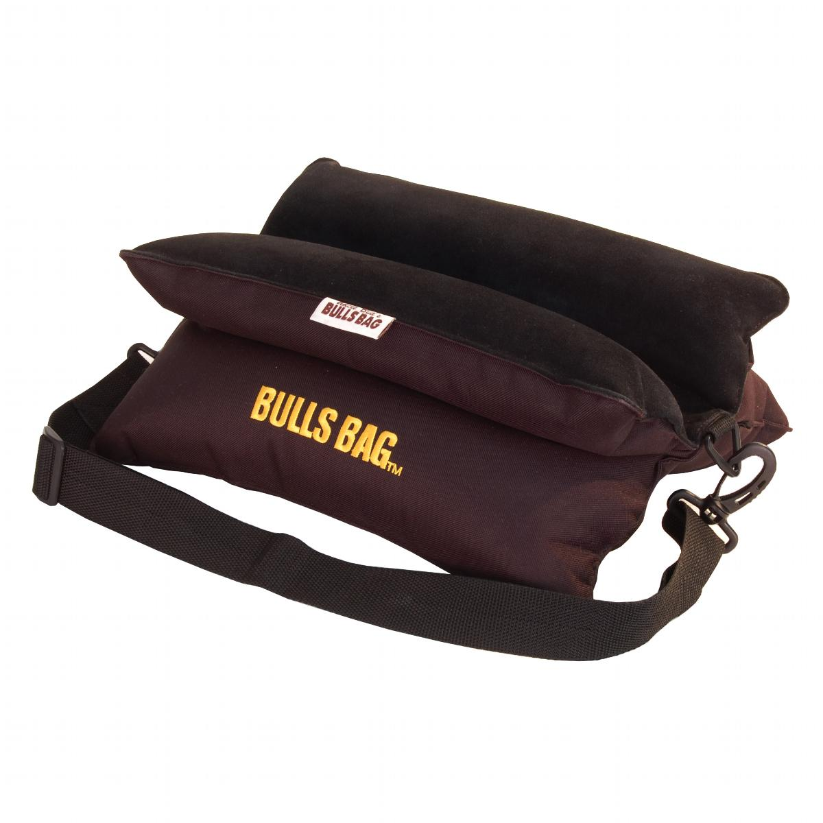 Bulls Bag/Uncle Buds Bench Rest with Carry Strap, Black ...