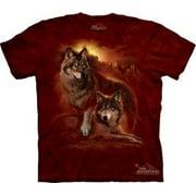 Wolf Sunset Adult T-Shirt - 101851