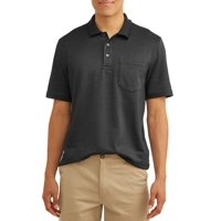 Deals on George Mens Pattern Jersey Polo