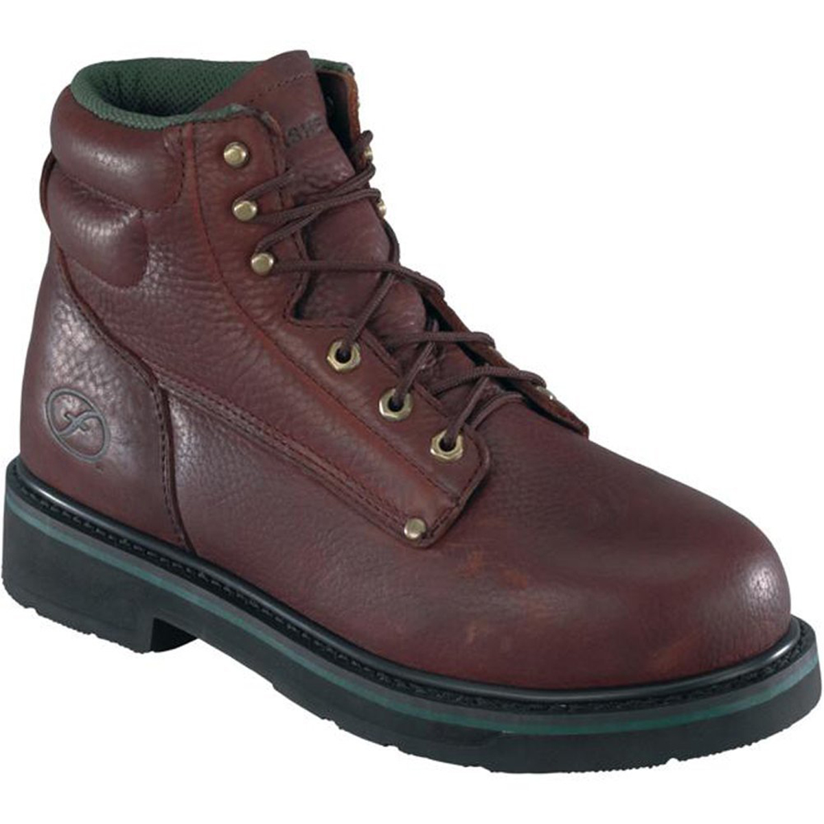 Florsheim Work Men's Utility Plain Toe 6'' Leather, Polyurethane Classic Boots