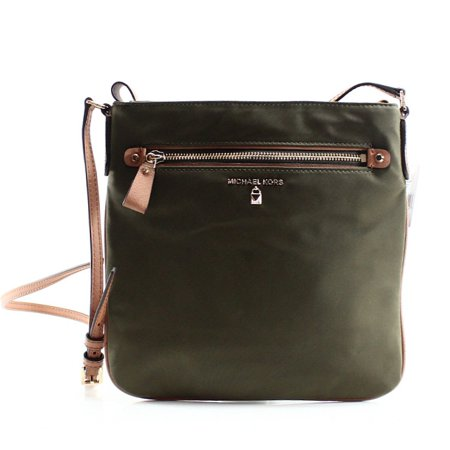 2ebc6fd397f5 Michael Kors - Michael Kors NEW Green Nylon Olive Kelsey Large Crossbody Bag  Purse - Walmart.com