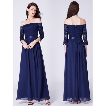 Ever-pretty - Ever-Pretty Women s Formal Plus Size Long Evening Ball Gowns  Lace Party Wedding Dresses for Women 07478 US 16 - Walmart.com fac6f61c5