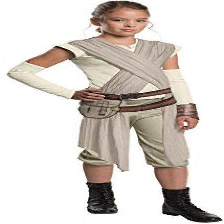 Star Wars: The Force Awakens Child's Deluxe Rey Costume, Medium](Rey Mysterio Kids Costume)