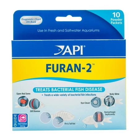 API Furan-2, Fish Powder Medication, 10-Count