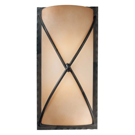 Minka Lavery Twisted Metal Wall Sconce Light