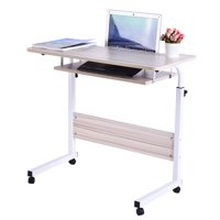 Iuhan Home Office Desk Can Be Raised And Lowered Mobile Computer Desk