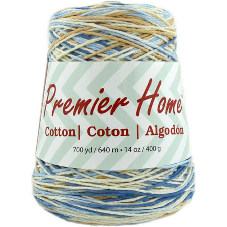 Premier Yarns Home Cotton Yarn - Multi Cone-Rustic Blue ()