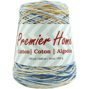 Premier Yarns Home Cotton Yarn - Multi Cone-Rustic Blue