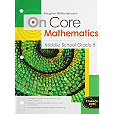 Houghton Mifflin Harcourt on Core Mathematics : Student Worktext Grade 8 2012