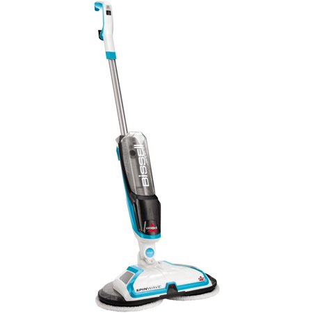 BISSELL Spinwave Hard Floor Powered Mop and Clean and Polish, (Best Hardwood Floor Mop Vacuum)