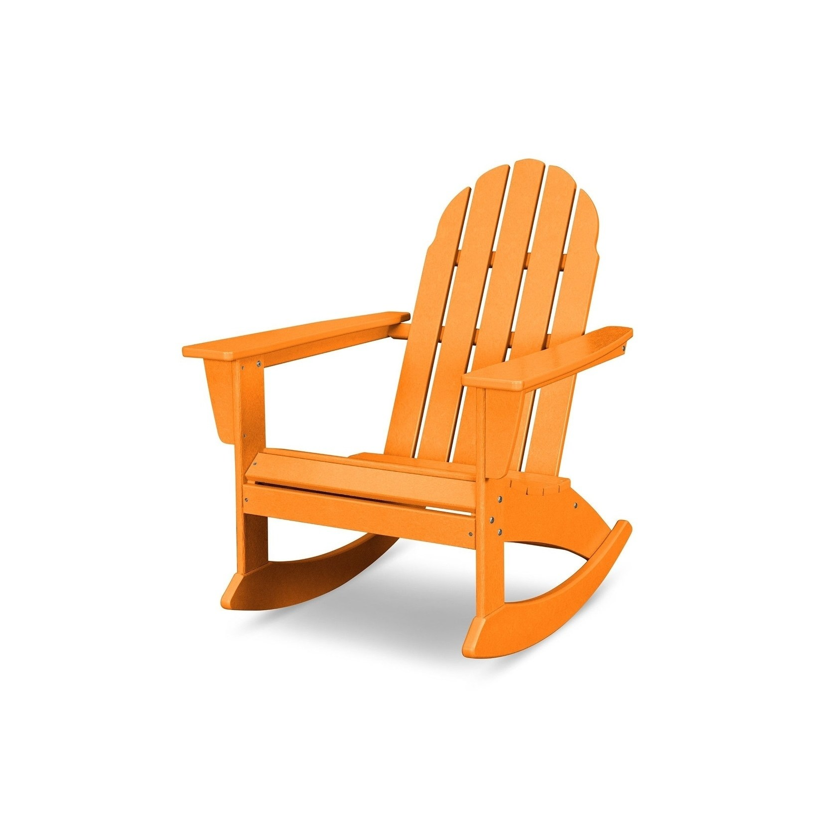 Polywood  Vineyard Outdoor Adirondack Rocking Chair