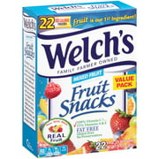 Welch's® Mixed Fruit Fruit Snacks 22-0.9 oz. Box