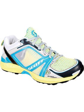 SCOTT Women's Aztec II Running Shoes, Limelight/Ocean, 10.5 B(M) US