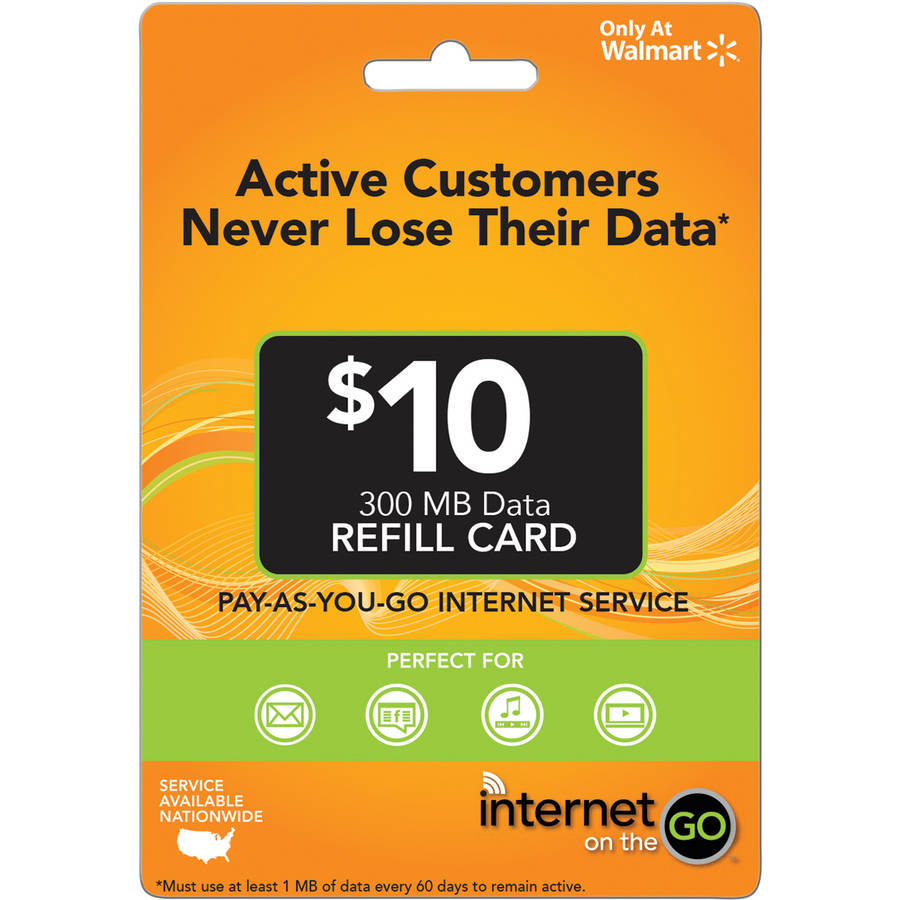 Internet on the Go $10 (Email Delivery)