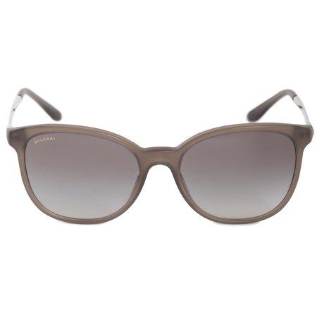 Bvlgari Round Sunglasses BV8160B 526211 54 | Gray Brown Acetate Frame | Gray Gradient (Bulgari Sunglasses Men)
