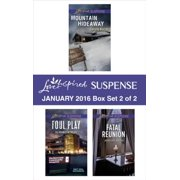 Love Inspired Suspense January 2016 - Box Set 2 of 2 - eBook