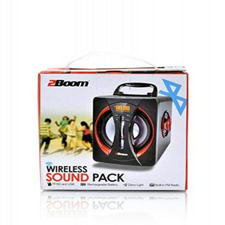 2boom Bx640 Bluetooth Sound Pack Boom Box Speaker